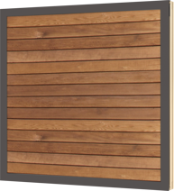 Non-ventilated VELFAC 200 Cedar panel