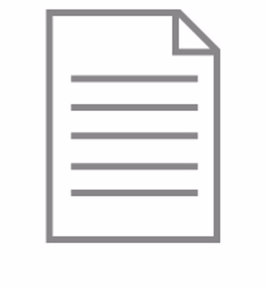 Specification document icon